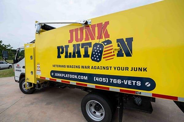 Junk Platoon junk removal truck